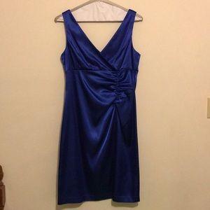 Blue Cocktail Dress (Size 14)